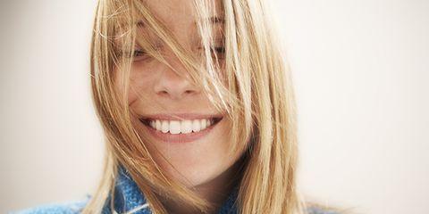 Lip, Hairstyle, Skin, Chin, Eyebrow, Happy, Eyelash, Facial expression, Jaw, Tooth,