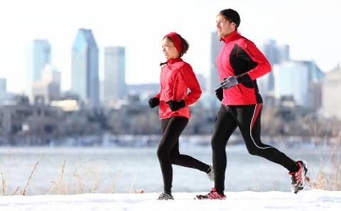 How Running in the Cold Affects Your Immune System