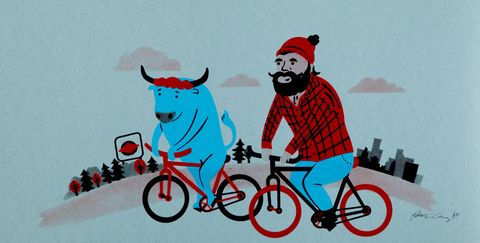 Inside Cycling's Coolest Art Show