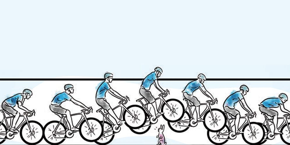 How to Bunny-hop on a bicycle