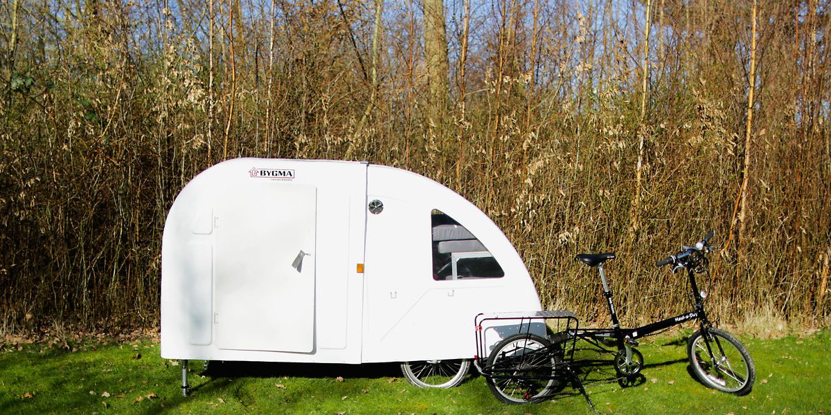 the incredible wide path bike camper bicycling. Black Bedroom Furniture Sets. Home Design Ideas