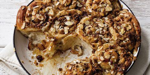 Toasted Almond Sticky Buns + 4 more almond milk recipes