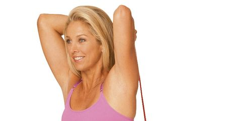 Tone your arms for summer with these two moves from Denise Austin.
