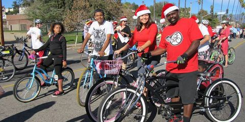 The East Side Riders bicycle club