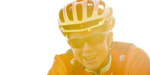 Yellow, Orange, Facial expression, Sports gear, Amber, Personal protective equipment, Cool,