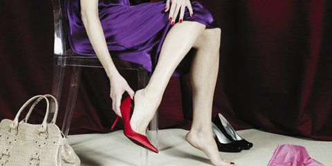 How wearing heels can lead to sagging breasts