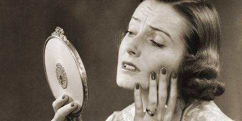 Finger, Wrist, Jewellery, Kitchen utensil, Eyelash, Nail, Photography, Baseball equipment, Makeover, Body jewelry,