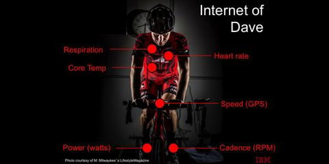 Dave Haase will be monitored in every way possible for the best result at RAAM.