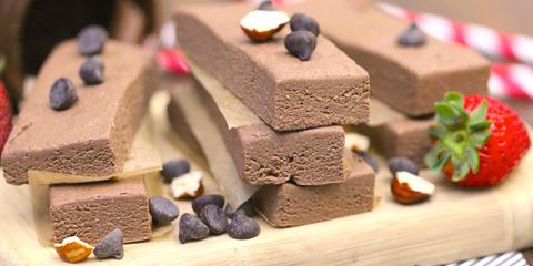 healthy nutella bars