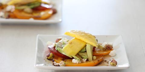 tomato avocado mango salad