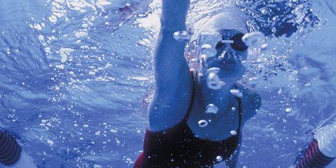 Fluid, Liquid, Swimming pool, Water, Recreation, Mammal, World, Aqua, Glove, Swimming,