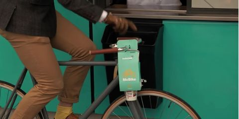 McBike takeout container