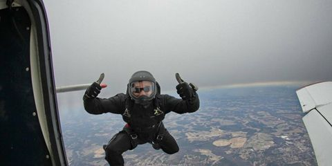 Parachuting, Vacation, Adventure, Aviation, Air sports, Extreme sport, Military aircraft, Aerospace engineering, Jumping, Air travel,