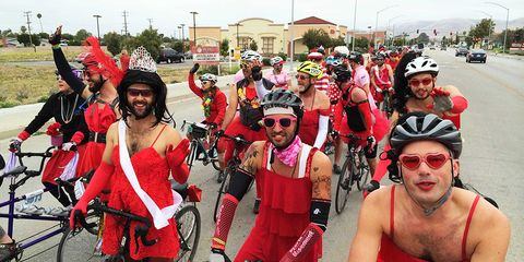 AIDS LifeCycle Wear Red Ride