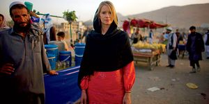 Shannon Galpin is an advocate for womens cycling in Afghanistan.