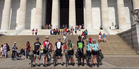 Spokes ride in Washington DC