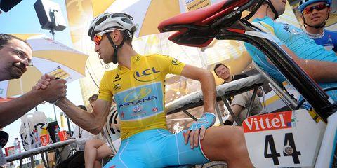 Vincenzo Nibali at the 2014 Tour de France
