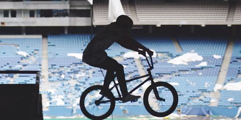 Tyler Fernengel at the Silverdome