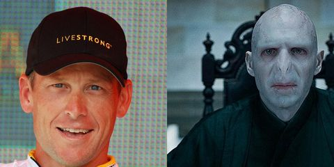 Voldemort and Armstrong