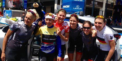 Team Velocio-Sram at Tour of California