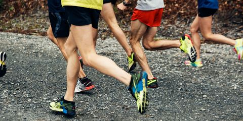 Clothing, Footwear, Shoe, Human leg, Athletic shoe, Active shorts, Sportswear, Shorts, Asphalt, Calf,
