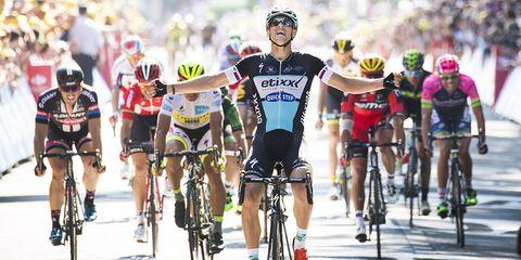 Stybar wins 2015 Tour de France Stage 6