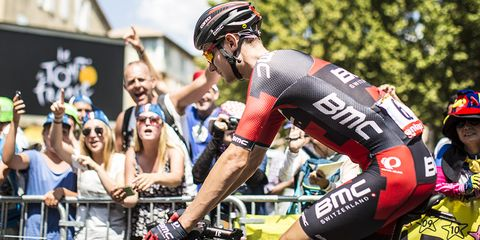 Tejay van Garderen abandoned the 2015 Tour de France during Stage 18.