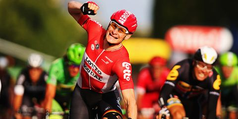 Andrew Greipel won his forth stage at the 2015 Tour de France