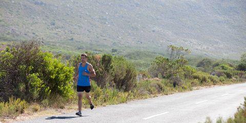 Road, Asphalt, Road surface, Thoroughfare, Running, Exercise, Trail, Active shorts, Jogging, Tar,