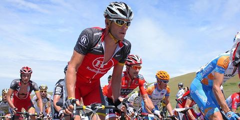 Armstrong Back on the Tour de France Route for Controversial Charity Ride