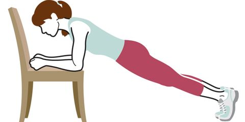 Try these toning chair moves