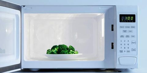 cooking with a microwave