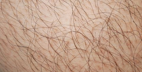 lost patch of hair on leg