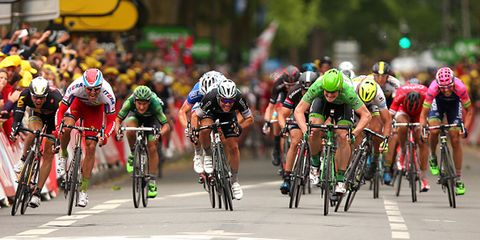 Greipel Wins Stage 5 of the 2015 Tour de France in a field sprint