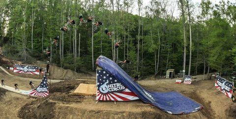 BMX Rider Jed Mildon Lands Quadruple Backflip