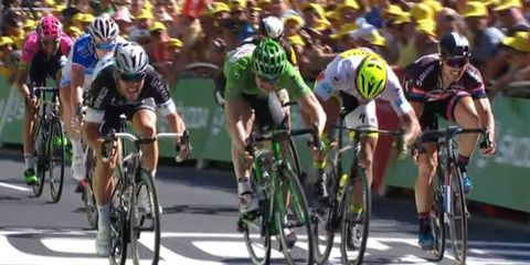 Mark cavendish wins stage 7