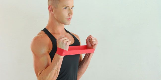 This Mini Band Workout Will Completely Transform Your Arms
