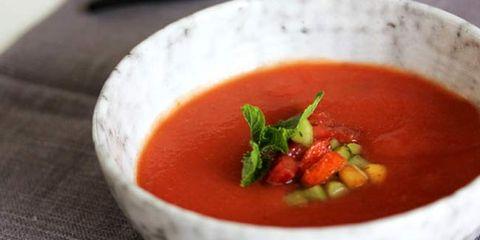 peach and tomato gazpacho recipe
