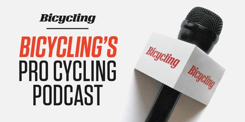 Bicycling's Pro Cycling Podcast Image