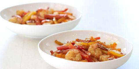 shrimp stir fry with bell pepper recipe