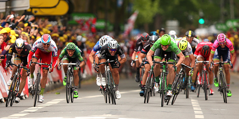 A sprint finish is the ultimate finale of any bike race.