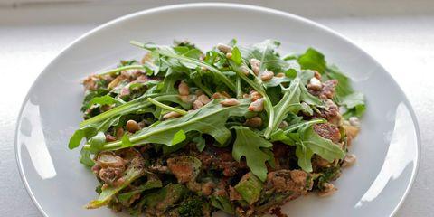 Food, Dishware, Cuisine, Ingredient, Serveware, Tableware, Plate, Vegetable, Leaf vegetable, Dish,