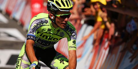 Tinkoff-Saxo's Rafal Majka soloed to a Stage 11 win.