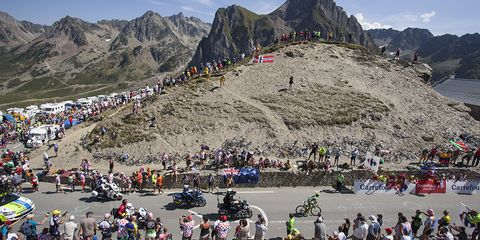 Tinkoff-Saxo's Rafal Majka, last year's Tour de France King of the Mountains, won Stage 11 in the Pyrenees.