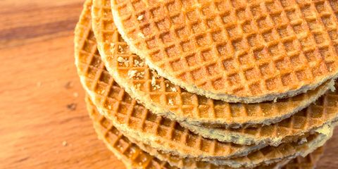 The sweet, sticky, energy-packed stroopwafel was first concocted in the Netherlands 200 years ago.