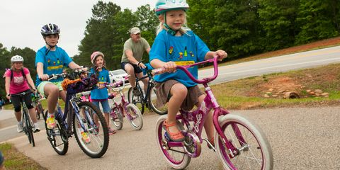 This is one bike gang you'll want your kid to join.