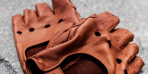 Brancale Leather Cycling Gloves