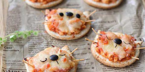 cat pizza art