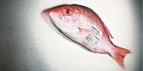 fresh caught fish has vitamins to help you eat for health