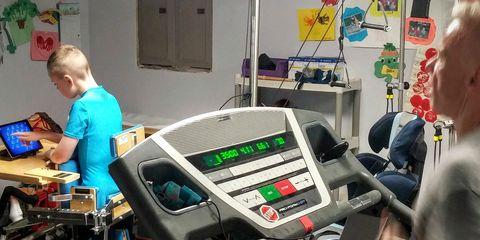 Human leg, Machine, Technology, Electronic engineering, Engineering, Service, Exercise machine, Play, Electronics, Science,